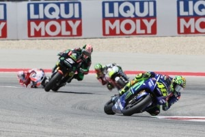 Valentino Rossi ärgerte sich nach dem Rennen nicht über die Strafe, sondern über Johann Zarco