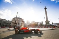 Max Verstappen beim Fan-Fest in London
