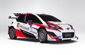 Studie des Toyota Yaris WRC