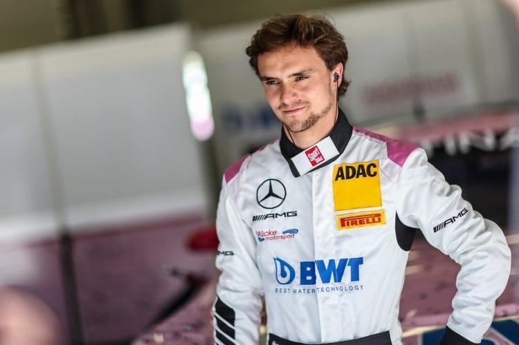 ADAC GT Masters: Lucas auter beendet das Rennen auf einem Podiumsplatz