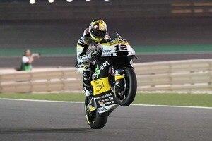 Tom Lüthi unter dem Flutlicht von Katar