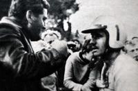 Paul Friedrichs mit Trainer Heinz Ramsch
