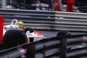 Ayrton Senna –in den Strassen von Monaco fast unschlagbar