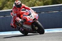 Andrea Dovizioso mit der Ducati GP14 in Jerez