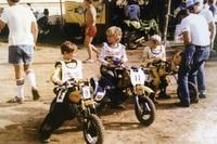 Colin Edwards (11) 1982 beim Nachwuchs-Motocross