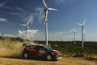 Andreas Mikkelsen bei seiner Citroën-Premiere auf Sardinien