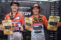 Jeffrey Herlings und Glenn Coldenhoff