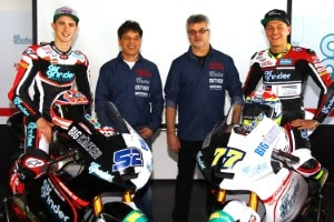 Das Team zerfällt: Kent (links), Stefan und Jochen Kiefer, Aegerter