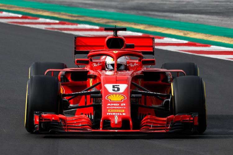 Barcelona-Tests: Vettel fleißig und schnell