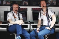 Williams-Technikchef Paddy Lowe (links) mit Chefingenieur Rob Smedley