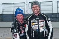 Michi Grabmüller (re.) muss bei der Tourist Trophy auf Manfred Wechselberger verzichten