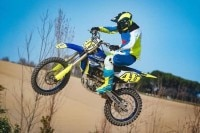Valentino Rossi beim MX-Training