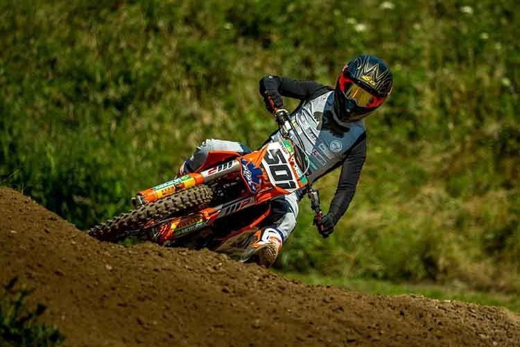 Gut in Form: Scheiwiller auf KTM