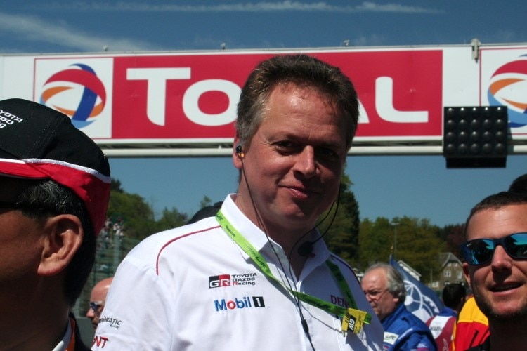 John Litjens, der Chief Project Leader Race Cars der Toyota Motorsport GmbH