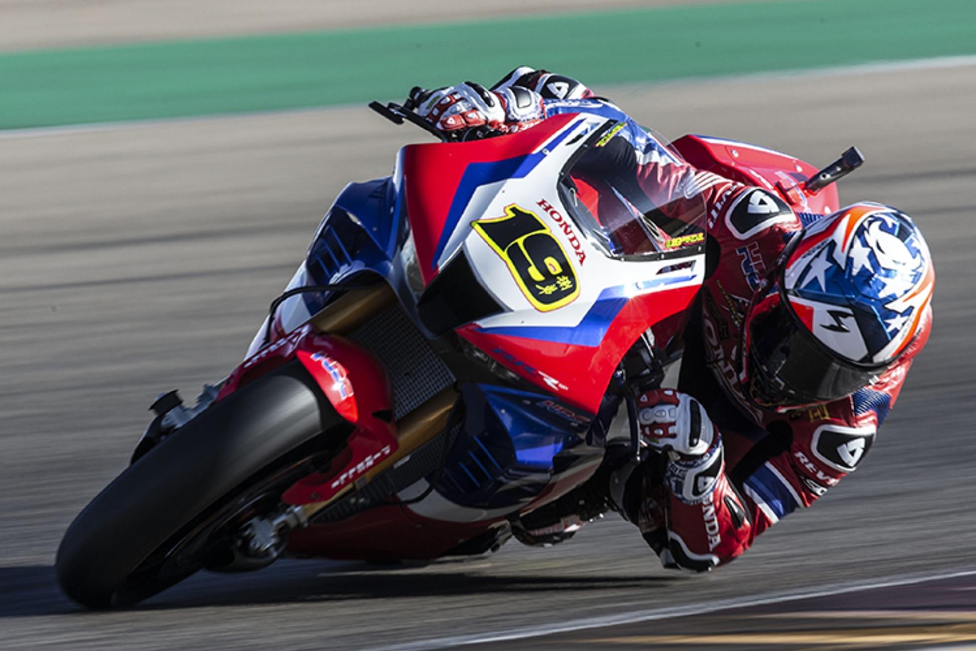 Honda überzeugt: Nahe an den Superbike-Gegnern dran
