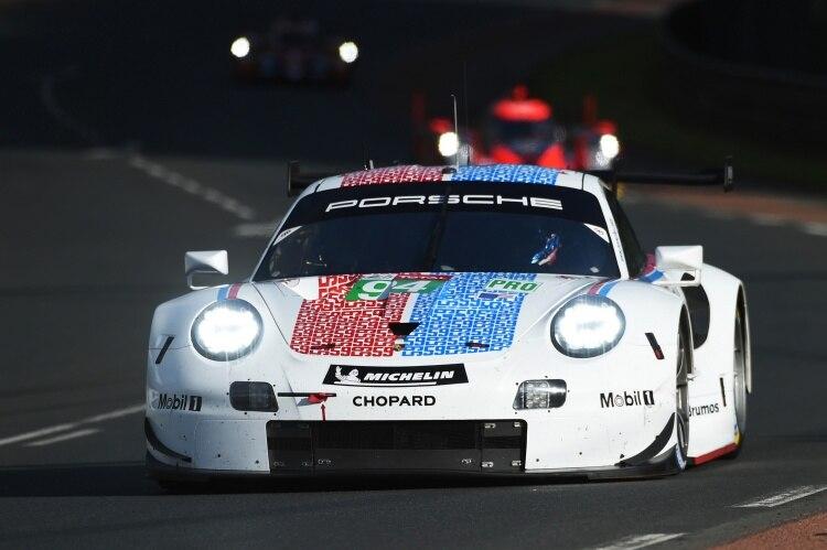 In Daytona, Sebring und Le Mans gab es 2019 auch das Brumos-Design