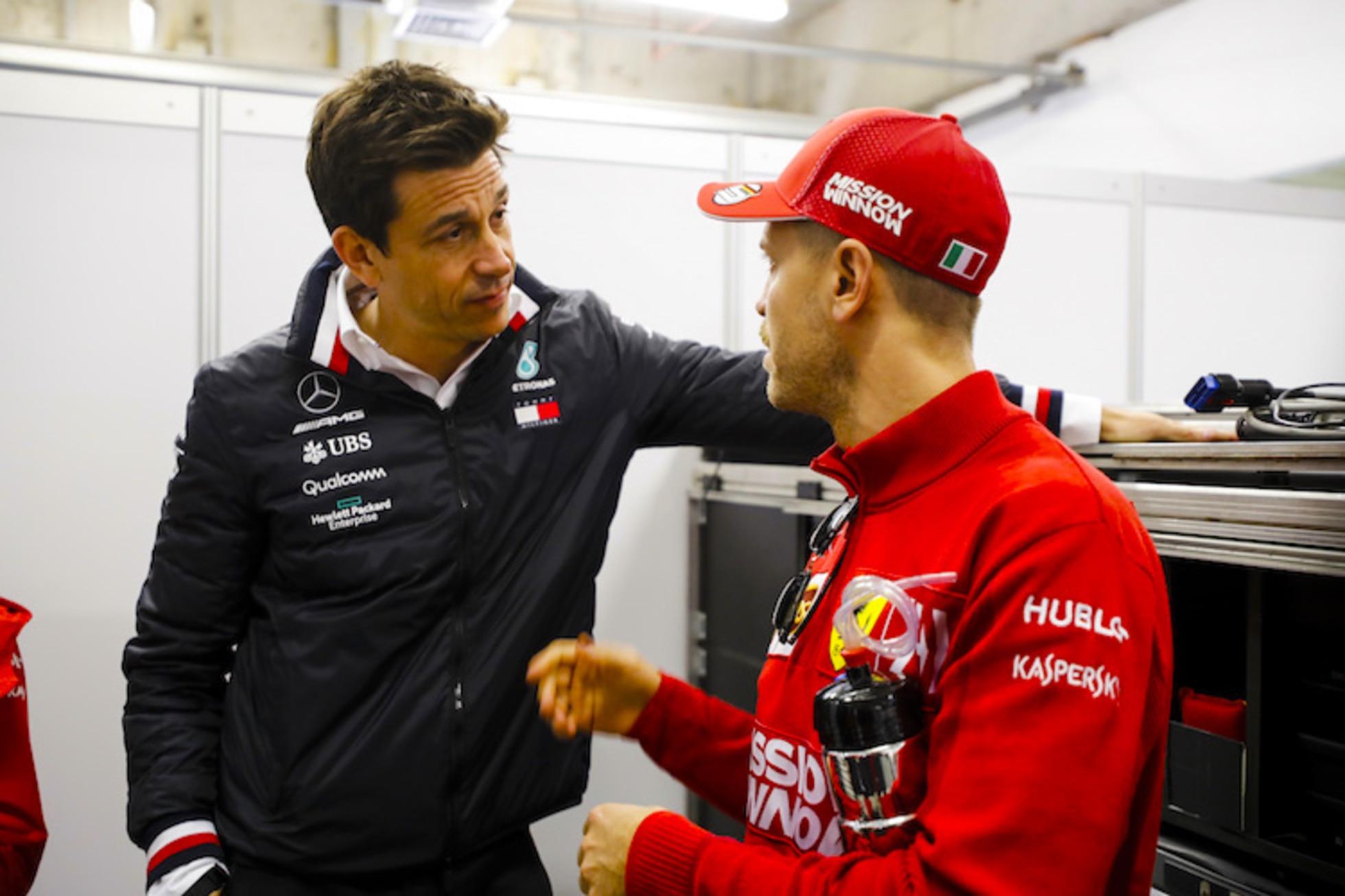 Toto Wolff: Analyse zu Vettel, Schumacher, Verstappen - SPEEDWEEK.COM