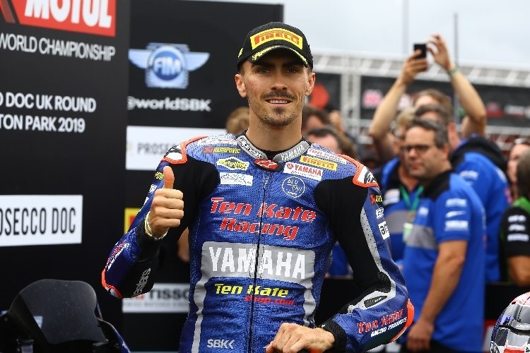 Loris Baz zeigte ein starke Performance in Donington