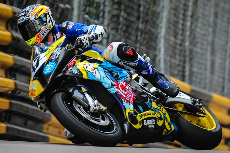 Simon Andrews beim Macau Grand Prix 2012