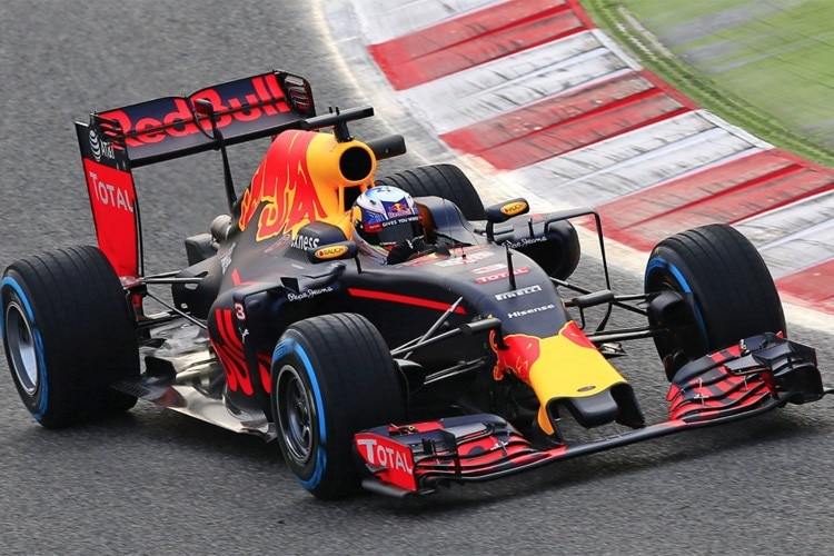Der neue Red Bull Racing RB12