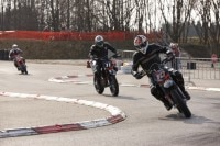 Die Supermoto-Rennstrecke in Memmingen