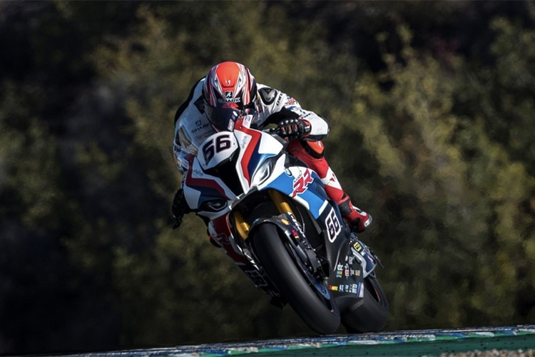Tom Sykes in Jerez