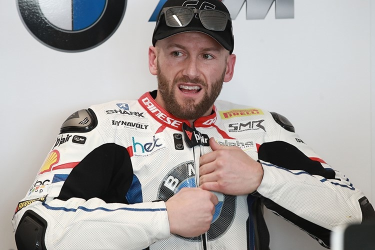 BMW-Ass Tom Sykes