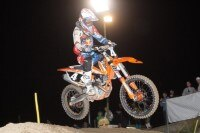 Marcel Staufer gewann das Night Moto Cross in Imbach