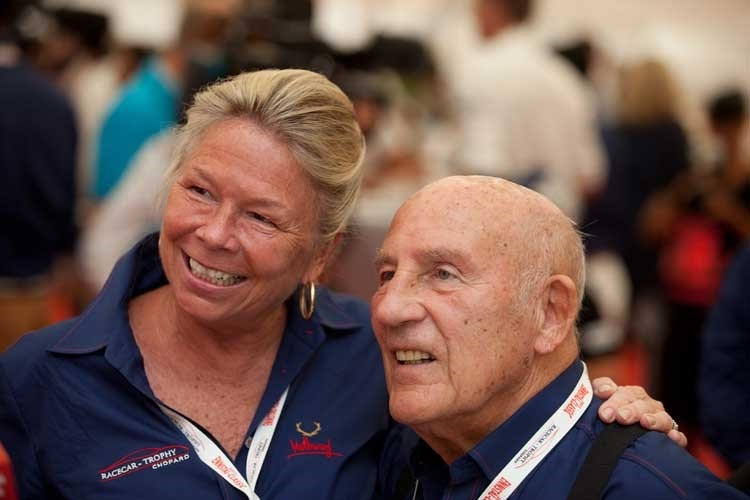 Lady Susie Moss und Sir Stirling Moss
