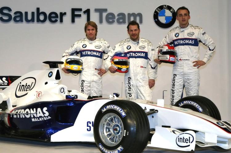 Resultado de imagen de Robert Kubica Villeneuve BMW  2006