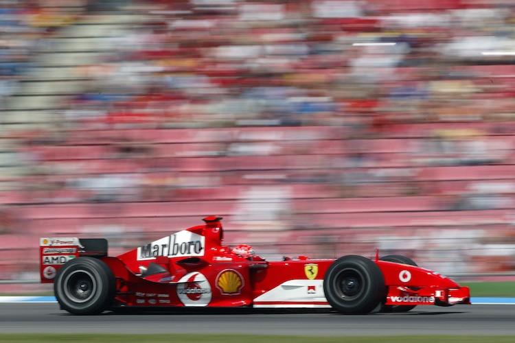 Deutschland Gp Mick Schumacher Im Ferrari F2004 Formel 1 Speedweek Com