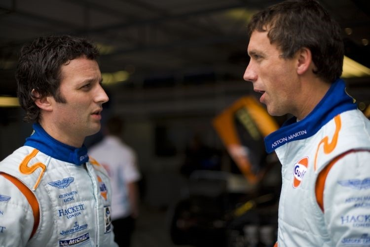 Peter Kox und Darren Turner (Aston Martin Racing)