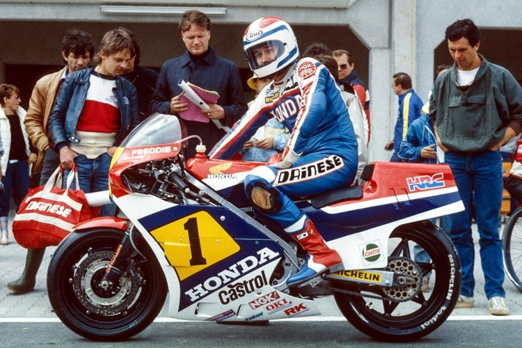 Freddie Spencer am Nürburgring 1984