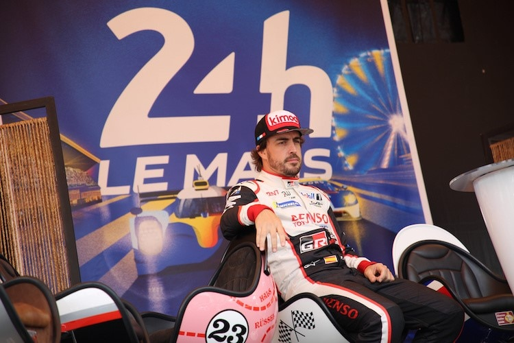 Fernando Alonso 2018 in Le Mans