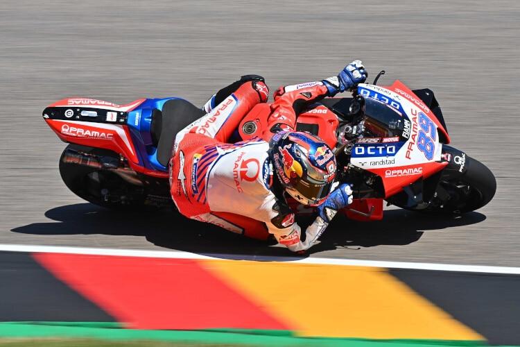 Jorge Martin samedi au Sachsenring