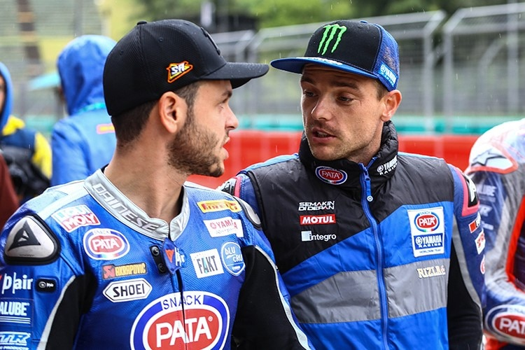 Sandro Cortese (li.) mit Alex Lowes