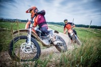 Im KTM E-Cross Center gibt es jede Menge Action