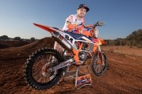 Jeff Herlings beim Training in Red Sand mit seiner 2020-KTM