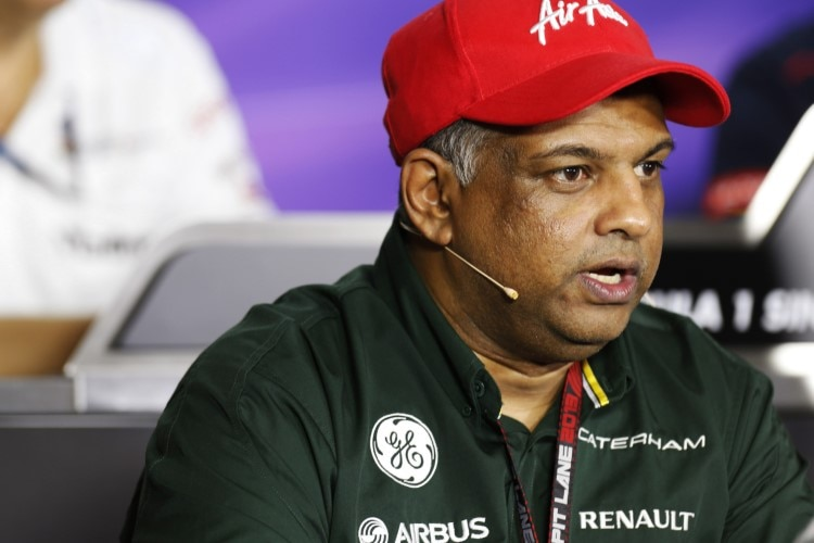 Caterham-Chef Tony Fernandes