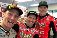 Tommy Bridewell, Joshua Brookes und Scott Redding (v.l.)