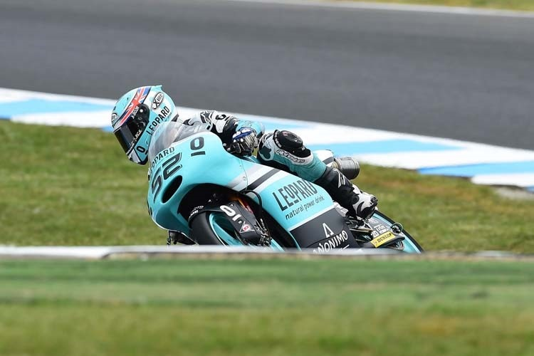 Danny Kent will jetzt in Malaysia Moto3-Weltmeister werden