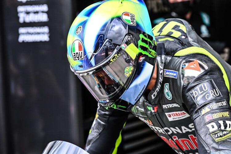 Valentino Rossi dispute sa dernière moitié de saison MotoGP