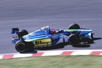 Johnny Herbert 1994 im Benetton