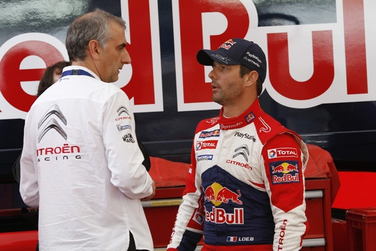 Der «Super-Champion» Sébastien Loeb (re.)