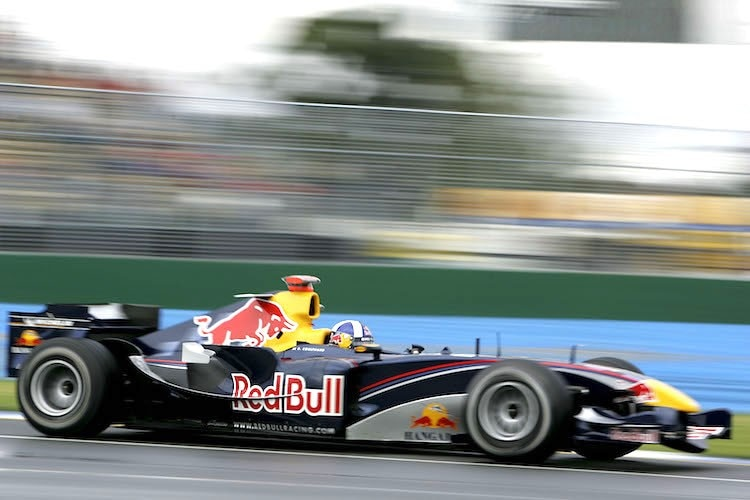 David Coulthard in Melbourne 2005