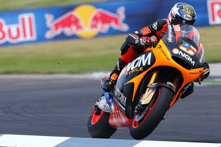 Colin Edwards in Indy