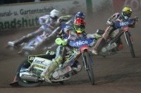 Chris Holder (vorne) startet erstmals in Cloppenburg