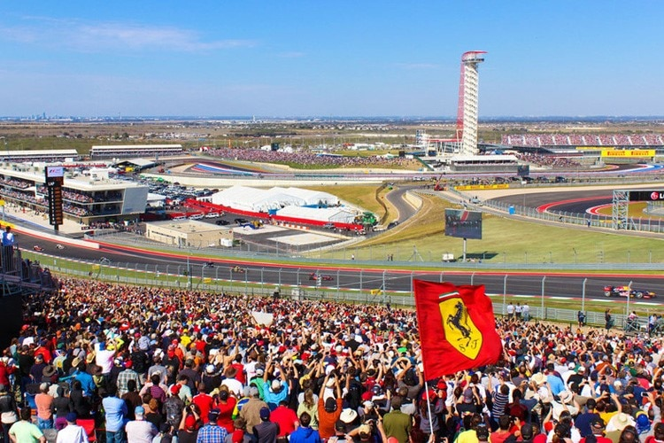 Gute Stimmung am Circuit of the Americas (COTA)