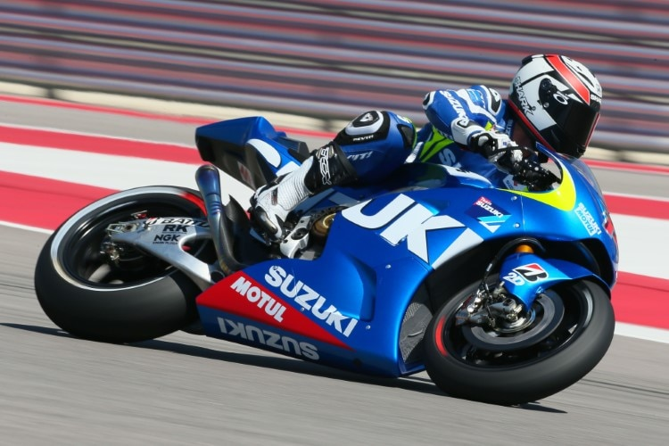 Suzuki kommt: Randy de Puniet bei MotoGP-Tests in Austin im April 2014
