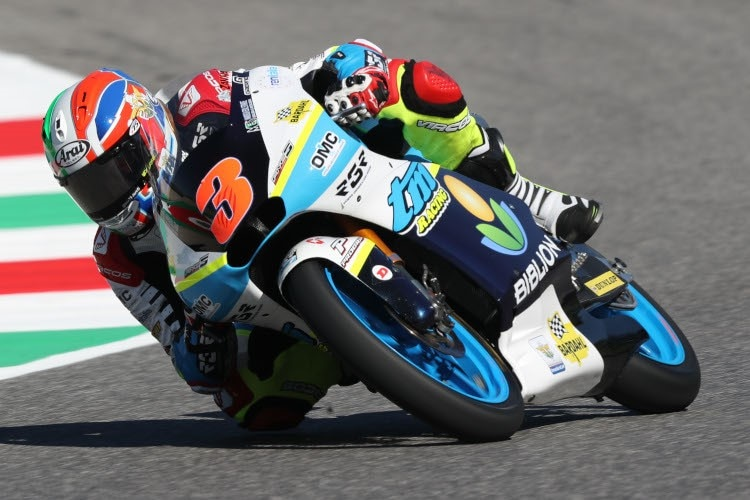 TM-Pilot Kevin Zannoni in Mugello